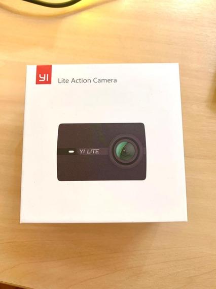 Câmera Xiaomi Yi Lite Action Camera 4k + Cartão Memória 32gb