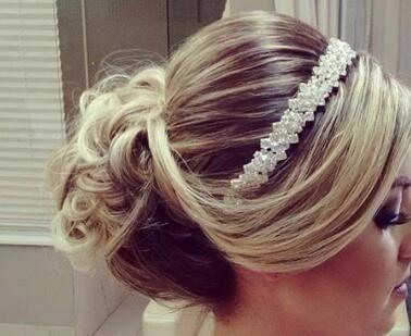 Tiara De Zirconia Para Noiva - Coroa De Casamento