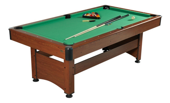 Mesa De Pool Madera Grande Game Power 213 X 118 X 78 Cm