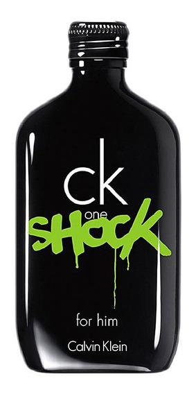 Perfume Calvin Klein Ck One Shock For Him Edt 200ml Original