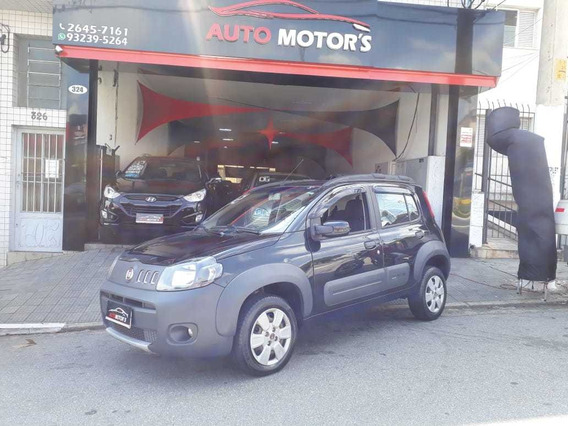 Fiat Uno Way 1.0 8v Flex 4pts Manual 2014 Financ Sem Entrada