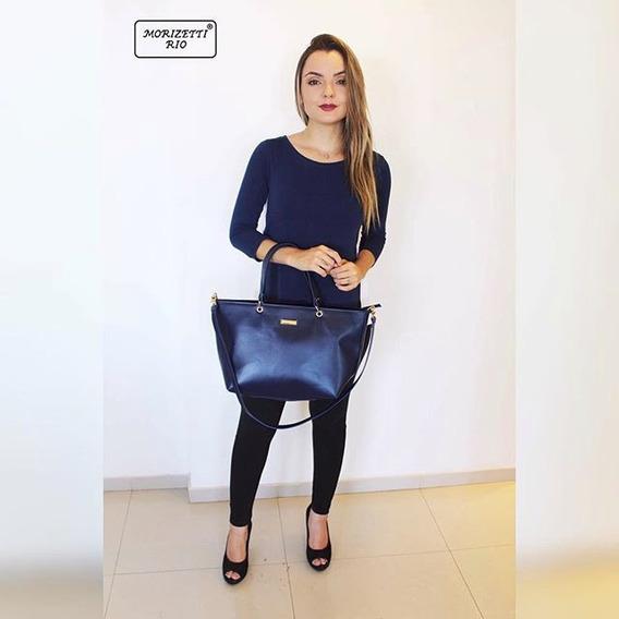 Bolsa Azul Da Grife Morizetti Rio Frete Grátis Promoção