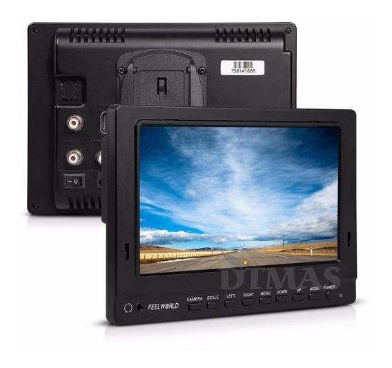Monitortft Lcd Hd1080p Canon,sony,nikon + Braço Mágico Brind