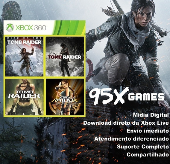 Midia Digital Xbox 360 - Pack Tomb Raider