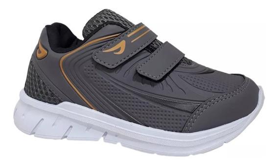 Tênis Infantil Ortopé Menino Jogging Sport Chumbo 22730006