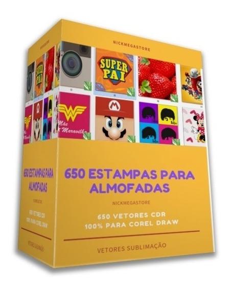 650 Estampas Para Almofadas Vetores Cdr - Pack Premium