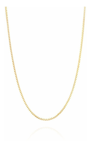 Corrente Colar Cordão Jóia Ouro 18k-750 Veneziana 60cm