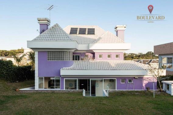 Casa À Venda, 330 M² Por R$ 1.500.000,00 - Alphaville Graciosa - Pinhais/pr - Ca0094