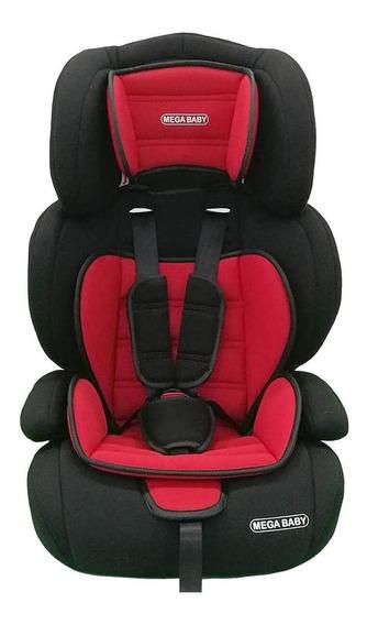 Booster con respaldo Mega Baby Silverstone Rojo