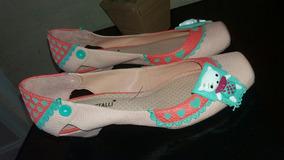 Sapatilha Urso Di Cristalli 35 Rosa