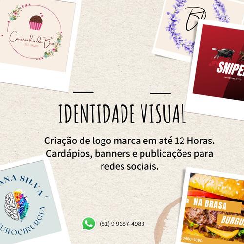 Imagem 1 de 10 de Criação De Logo Marca, Folders, Cardápio E Publicações