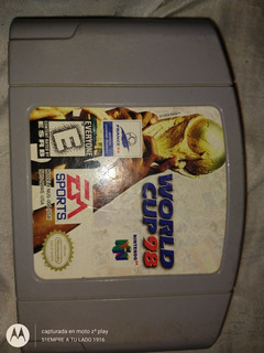 World Cup98 N64