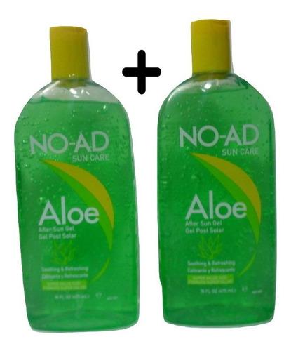 2 Unidades Gel Aloe Vera No-ad