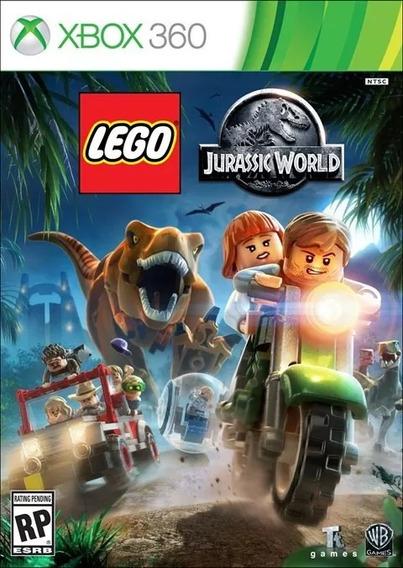 Lego Jurassic World Xbox 360 Mídia Física 100% Em Português