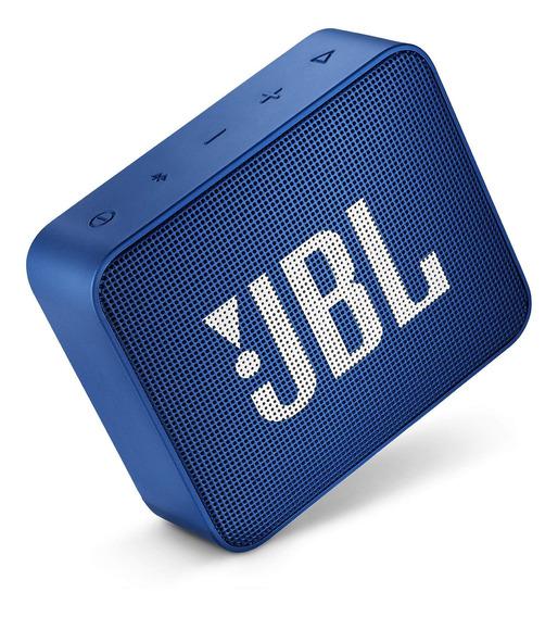 Caixa Multimídia Portátil Go 2 Azul Jbl Original Frete