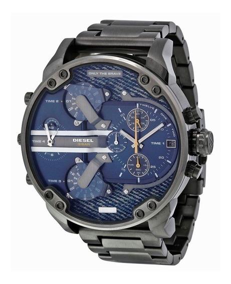 Relógio Diesel Mr. Daddy 2.0 Dz7331 Masculino Cinza E Azul