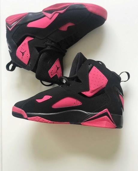 Nike Air Jordan Basquete Feminino Em Couro