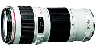 Canon Ef 70-200mm F/4l Usm Nuevo Y Original!!