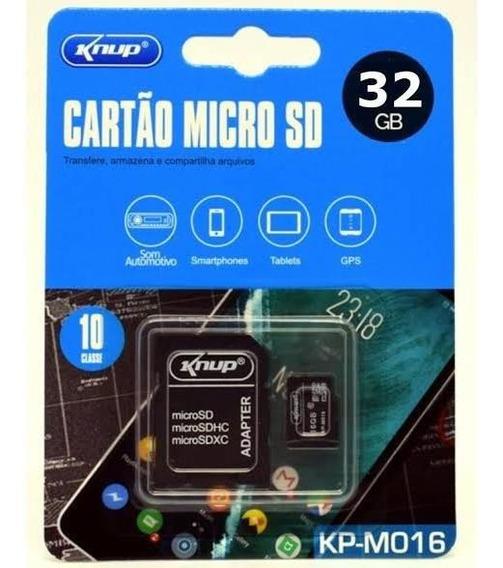 Cartão De Memória 32g Micro Sd Com Adaptor