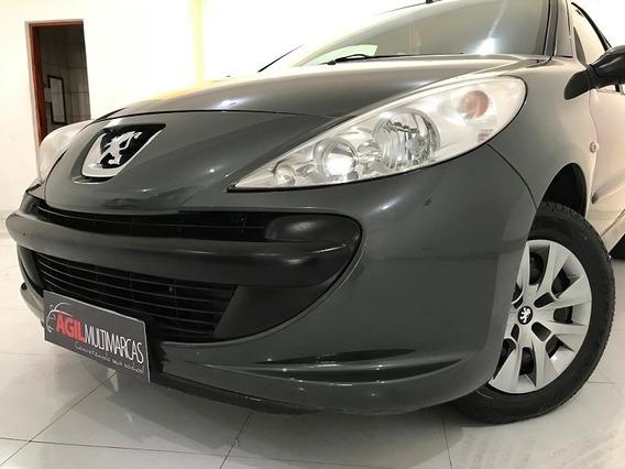 Peugeot 207 Xr 1.4 Único Dono 2010 Cinza Flex