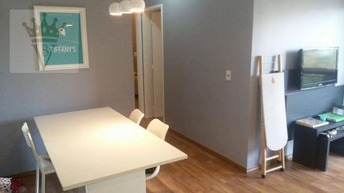 Apartamento Com 2 Dormitórios À Venda, 56 M² Por R$ 650.000,00 - Vila Olímpia - São Paulo/sp - Ap5067