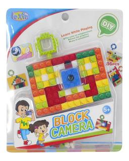 Blocks X 86 Pzs Mini Camara Fotos