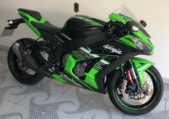 Kawasaki Zx10r Verde/preto U.dono 5500km Original 2017/2017