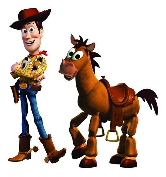 Woody Y Tiro Al Blanco Toy Story Figuras Decorativas Fiesta