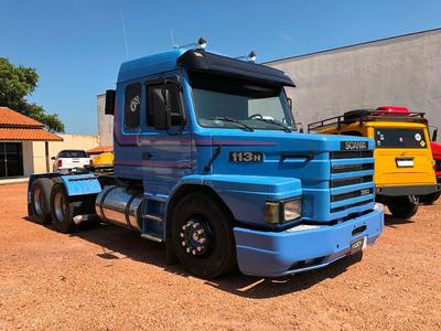 Scania T 113 360 1996-1997 Azul