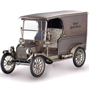 Ford Model T (1913) Ups - Nº 1 - Prata 1:18 Norscot - 58006