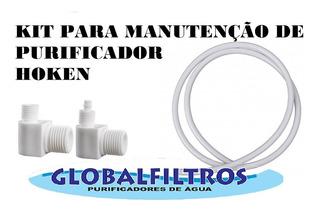 Kit Manutenção Filtro Purificador De Água Hoken Pentair Etc