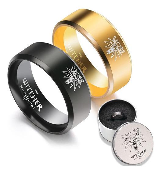 Ring The Witcher 3 Geralt De Rívia Escola Do Lobo