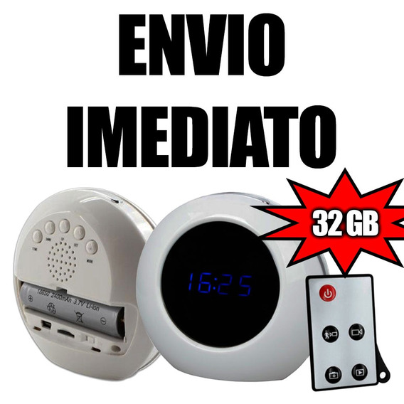 Cameras Com Audio Camera Detetive Security Para Casas 32gb