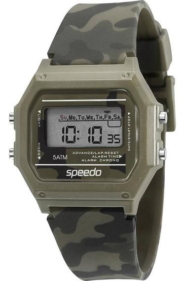 Relógio Feminino Speedo Verde/preto Camuflado 65068l0evnp5