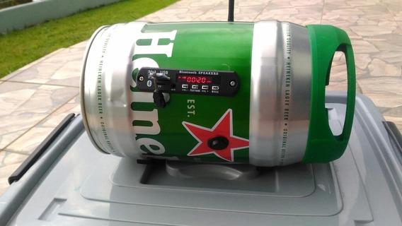 Caixa De Som Bluetooth Heineken