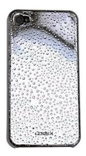 Logiix iPhone 4lluvia 4 plata Ateado