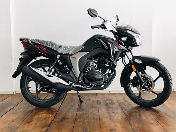 Haojue Dk Cbs 150cc 2020/2021 Preta 0km