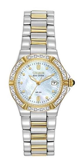 Relógio Feminino Citizen Ew0894-57d Eco-drive Diamond