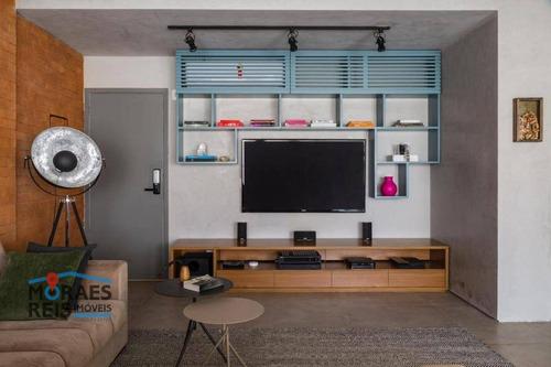 Apartamento À Venda, 63 M² Por R$ 1.150.000,00 - Brooklin - São Paulo/sp - Ap16103