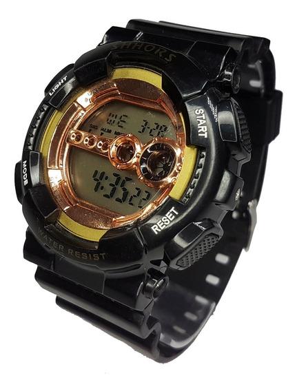 Relógio Militar Estilo G-shock Top Barato Completo Rest Água