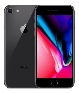 iPhone 8 256 Gb Cinza Espacial + Capinha Original Apple