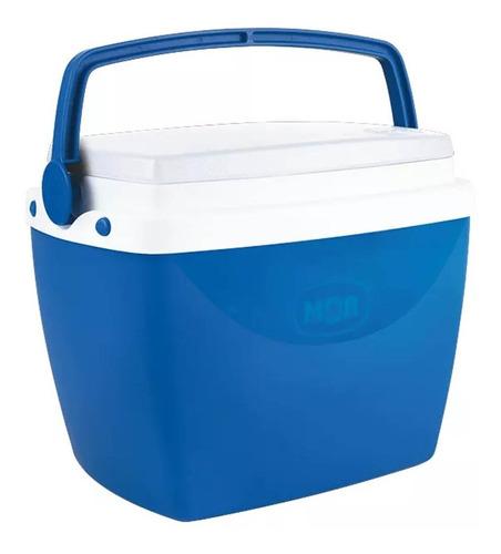Caixa Térmica 6 Litros Azul Com Alça Mor