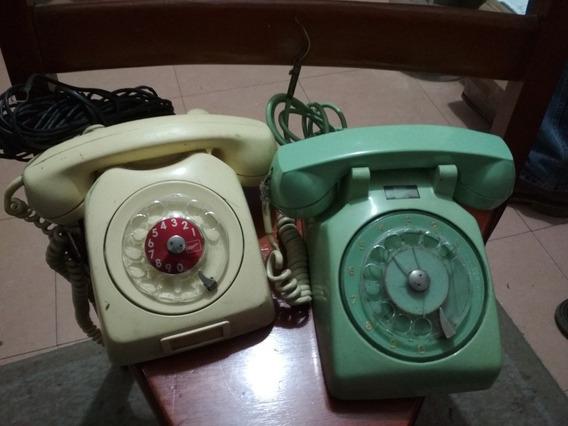 Teléfonos Antigüos De Disco