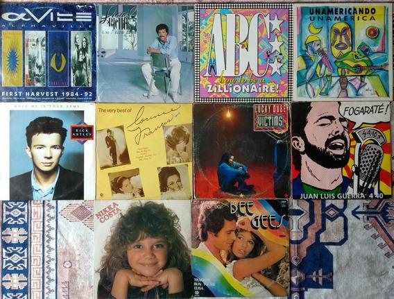 Lote De 10 Lps Disco De Vinil Pop Rock Internacional