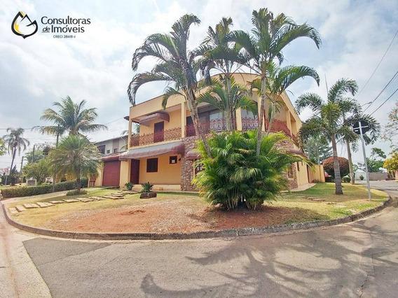 Casa Com 4 Dormitórios À Venda, 399 M² Por R$ 960.000 - Alphaville Campinas - Campinas/sp - Ca1152
