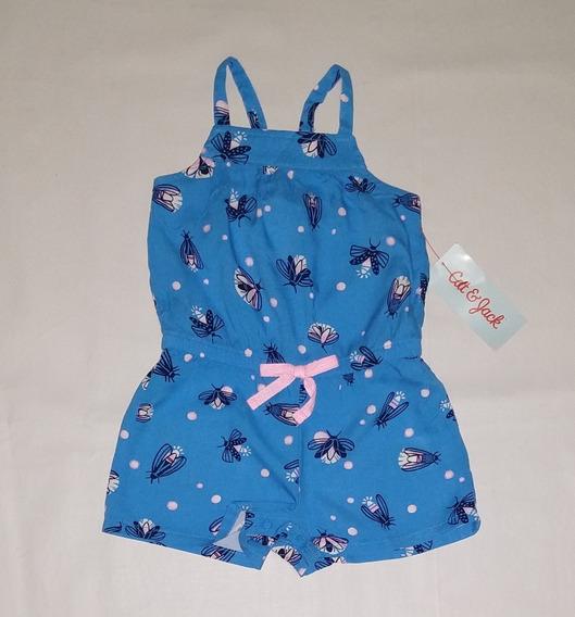 Jumpsuit Azul Bebe 6 - 12 Meses Niña Cat & Jack