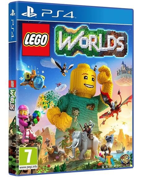 Jogo Lego Worlds Ps4 Midia Fisica Lacrado Nacional Barato