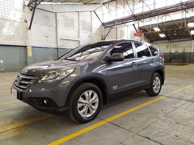 Honda Cr-v Exl 2013 4x4 Acero