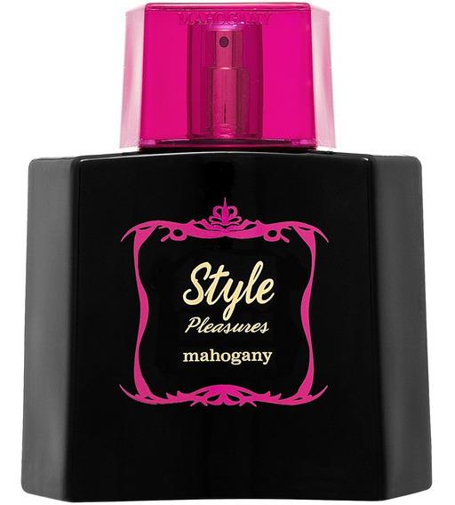 Mahogany Fragrância Des. Style Pleasures 100 Ml