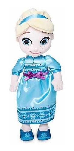 Imagen 1 de 2 de Muñeca Animators Disney Felpa - Entrega Inmediata Elsa2 30cm